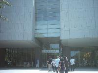 東京富士美術館の入り口